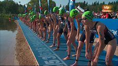 Triatlón - ITU World Series. Prueba Edmonton (Canadá). Carrera Élite Femenina Sprint