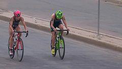 Triatlón - ITU World Series. Prueba Edmonton (Canadá). Relevos Mixtos
