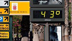 Las temperaturas suben mientras se acerca la primera ola de calor del verano