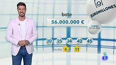 Bonoloto + EuroMillones - 31/07/18