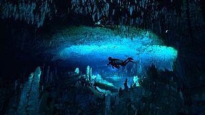 Bahamas azules: Cuevas