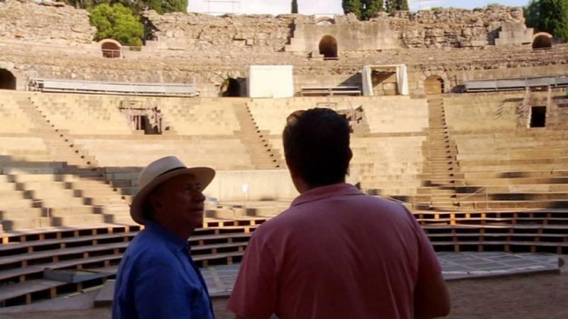 Peridis y el Teatro Romano de Mérida