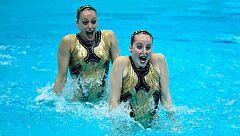 La 'sincro' española sueña con lograr una medalla en los Europeos de Glasgow
