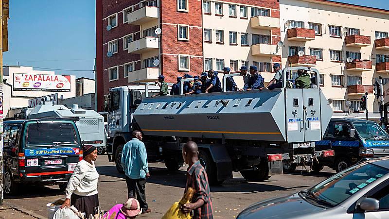 Calma tensa en Zimbabue tras los disturbios por las elecciones