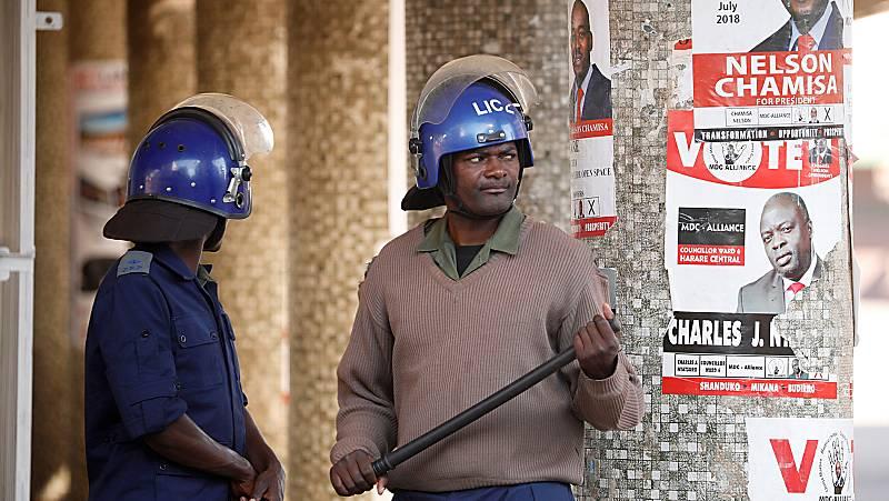 Tensión en Zimbabue ante la incertidumbre por los resultados electorales