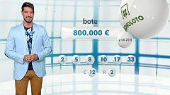 Lotería Nacional + La Primitiva + Bonoloto - 02/08/18