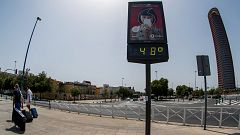 La ola de calor toca techo con alerta roja en Badajoz, Cáceres, Ourense y Pontevedra