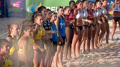 Balonmano Playa - Campeonato de España Partido de las Estrellas Femenino