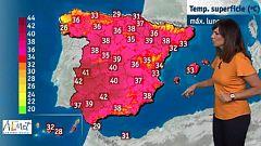 El calor continúa en todo el país, aunque ya sin alertas rojas