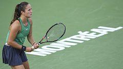 Tenis - WTA Torneo Montreal (Canadá): D. Kasatkina - M. Sakkari