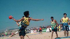 Balonmano Playa - Campeonato de España desde Laredo. Resumen