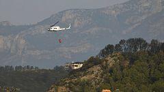 El incendio de Llutxent ya ha arrasado más de 2.800 hectáreas de Gandía y otros cinco municipios