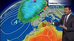 Continúa el descenso de temperaturas en la mitad norte y Canarias