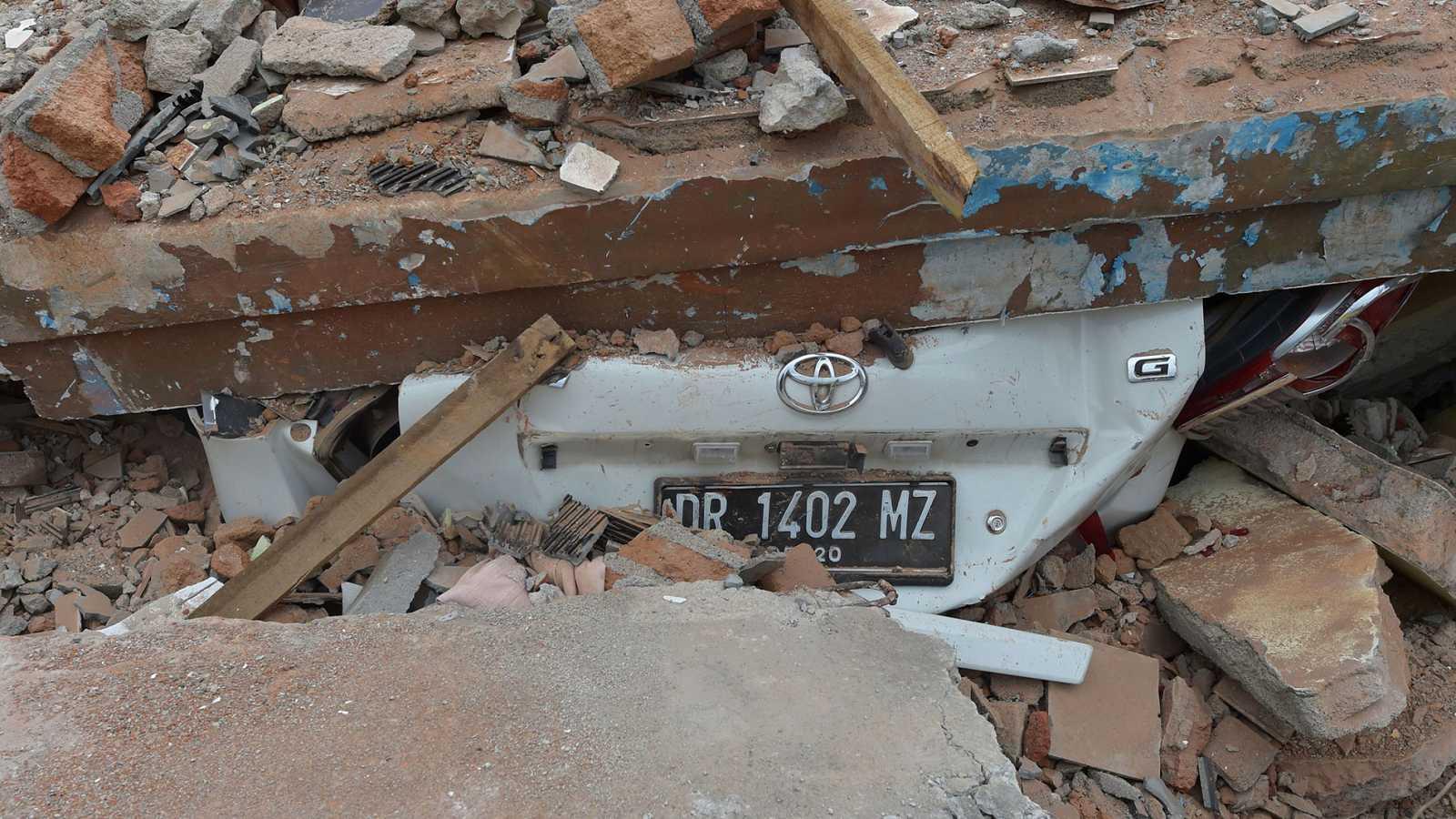 Un nuevo terremoto, de magnitud 5,9, sacude la isla indonesa de Lombok