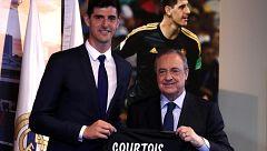 """Courtois: """"Cumplo un sueño llegando al Real Madrid"""""""