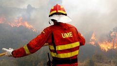 Los bomberos de Valencia dan por estabilizado el incendio de Llutxent