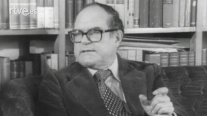 Encuentros con las letras - Julián Marías, Leopoldo de Luis y Vicente Llorens