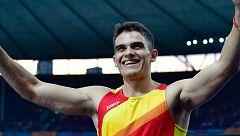 La familia de Bruno Hortelano ya está en Berlín para apoyarle en la final de 200m