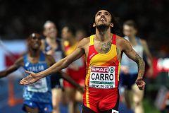 European Championships: Fernando Carro se cuelga la plata en los 3.000 obstáculos