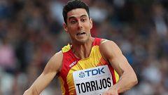 European Championships. Torrijos vuela a la final de triple salto
