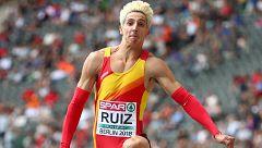 European Championships. Histórica clasificación de Marcos Ruiz para triple salto