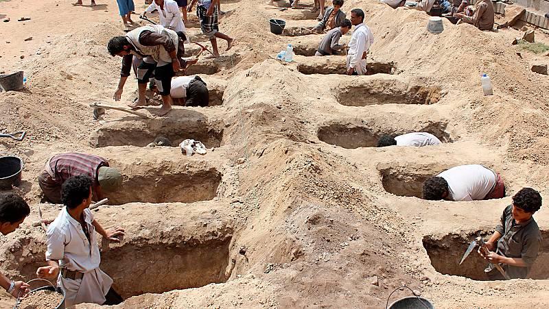 Naciones Unidas reclama una investigación del bombardeo contra un autobús de menores en Yemen