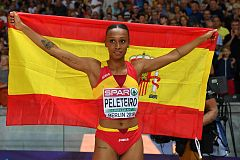 European Championships: Ana Peleteiro logra el bronce en el triple salto