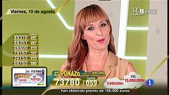 Sorteo ONCE - 10/08/18