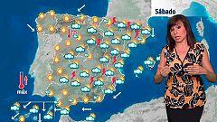 Suben las temperaturas en una jornada en la que se esperan fuertes chubascos y tormentas en el este peninsular