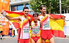 European Championships: Álvaro Martín y María Pérez se llevan el oro, Diego García, la plata
