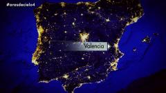 España a ras de cielo - España de noche