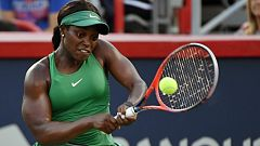 Tenis - WTA Torneo Montreal (Canadá) 2ª Semifinal: S. Stephens - E. Svitolina