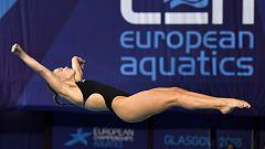 European Sports Championships 2018 - Natación Saltos Final 3M Femenino