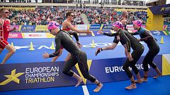 European Sports Championships 2018 - Triatlón Relevos Mixtos