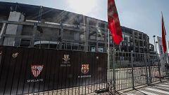 El Sevilla mirará con lupa la alineación del Barça por los extracomunitarios