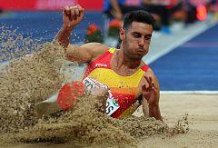 European Championships: Pablo Torrijos, quinto en el triple salto con una marca de 16.74