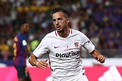 Supercopa de España: Sarabia abre el marcador del partido (1-0)