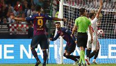 Supercopa de España: Piqué devuelve la igualdad al marcador (1-1)