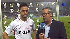 "Supercopa de España. Sarabia: ""Se nos ha escapado por pequeños detalles"""
