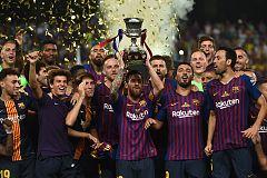 Supercopa de España: El Barcelona levanta el primer título de la temporada