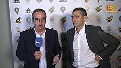"""Supercopa de España. Valverde: """"Tenemos muchas esperanzas en Dembélé"""""""