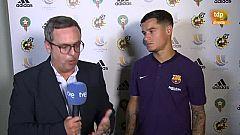 """Supercopa de España. Coutinho: """"Estamos trabajando duro para estar preparados en Liga"""""""