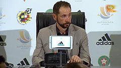 """Supercopa de España. Pablo Machín: """"Hemos competido pero el Barça, una vez más, ha sido campeón"""""""