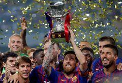 El Barça remonta para ganar la Supercopa de España