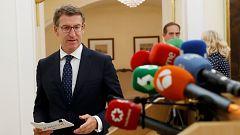 """Feijóo, abochornado"""" por el siniestro de Vigo, pide explicaciones """"sin tapujos"""" al Puerto y al Ayuntamiento"""