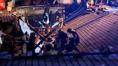 Más de 300 heridos al desplomarse una pasarela en el puerto de Vigo durante la celebración de un festival