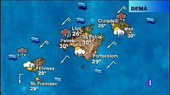El temps a les Illes Balears - 13/08/18