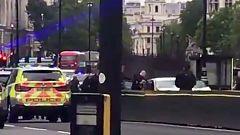 Así ha sido la detención del sospechoso de estrellar un coche contra el Parlamento británico