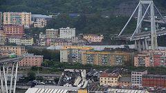 Al menos once muertos en el derrumbe del viaducto de una autopista cerca de Génova