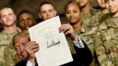 Trump firma el presupuesto en Defensa más alto de la historia de Estados Unidos